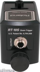 Roland RT10S Dual Zone Acoustic Snare Drum Trigger