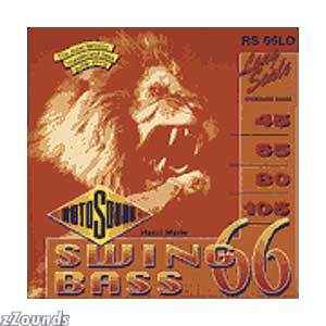 Rotosound Swing Electric Bass Guitar Strings (Model RS 66LD - Long Scale)