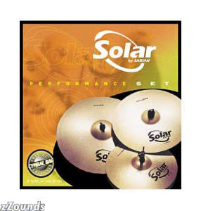 Sabian Solar Performance Cymbal Set