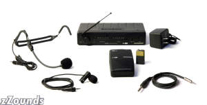 Samson Stage 5T 3in1 Guitar Lavalier and Headset Wireless System
