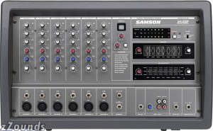 Samson XM410 6-Channel Powered Mixer (400 Watts)