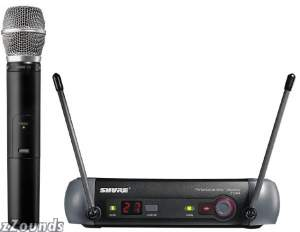 Shure PGX24 UHF Handheld Wireless System with SM86 Microphone