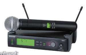 Shure SLX UHF Handheld Wireless with Beta 58A