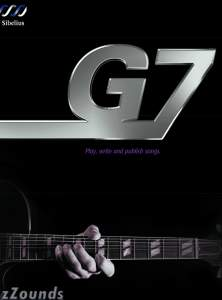 Sibelius G7 Kontakt Edition Guitar Notation Software (Macintosh and Windows)