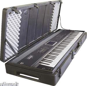 SKB R4215W 61-Key Roto Molded Keyboard Case with Wheels