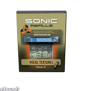 Sonic Reality Volume 19: Vocal Textures Refills for Reason