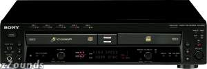 Sony RCDW500C CD Recorder and Player