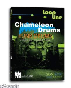 SONiVOX LoopLine Chameleon Drums 1 Funk Drums Loop Library