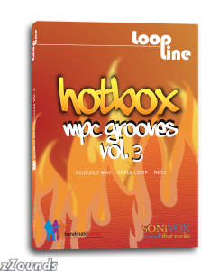 SONiVOX LoopLine HotBox Volume 3 MPC Grooves Loop Library