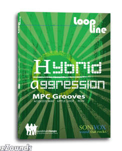 SONiVOX LoopLine Hybrid Agression MPC Grooves Loop Library