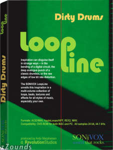SONiVOX LoopLine Dirty Drums Loop Library