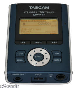 Tascam MPVT1 Portable MP3 Vocal Trainer