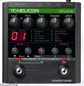 TC Helicon VoiceTone Double Vocal Effects Pedal