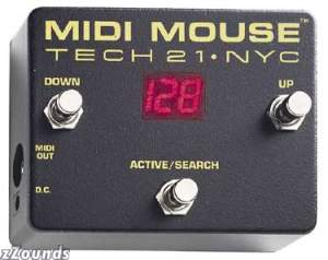 Tech21 MM1 MIDI Mouse MIDI Foot Controller