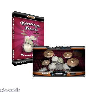 Toontrack Vintage Rock EZX Expansion for EZ Drummer Software