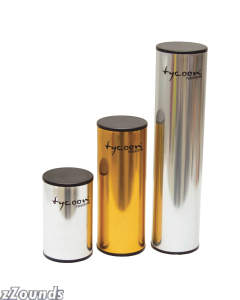 Tycoon Percussion Chrome Shaker
