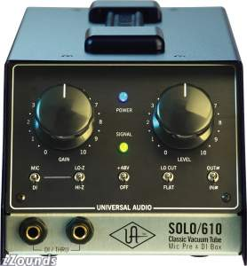 Universal Audio Solo/610 Microphone Preamp
