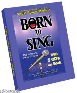 Vocal Power Institute Born to Sing Complete Course Book and CDs