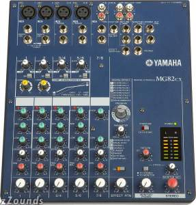 Yamaha MG82CX Stereo Mixer with Effects