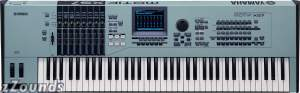 Yamaha MOTIF XS7 76-Key Workstation