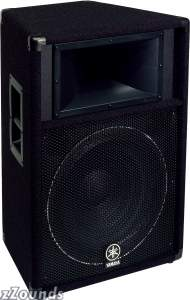 Yamaha S115V Club V Loudspeaker (500 Watts, 1x15 in.)