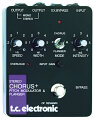 TC Electronic Stereo Chorus/Flanger Pedal