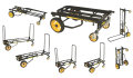 RocknRoller Multi-Cart Equipment Cart with R-Trac Wheels