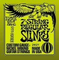 Ernie Ball 2621 7-String Regular Slinky Electric Guitar Strings (10-56)