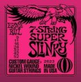 Ernie Ball 2623 7-String Super Slinky Electric Guitar Strings (9-52)