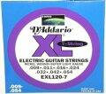 D'Addario EXL120-7 XL Electric Guitar Strings (Super Light, 7-String, 9-54)