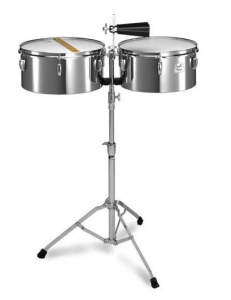 Pearl Primero Steel Timbales