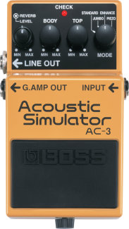 Boss AC-3 Acoustic Sim