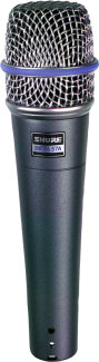 Shure Beta 57A Mic