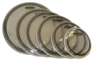 Evans EC2S Clear Drumhead