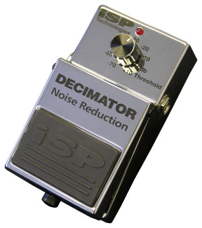 ISP Decimator Pedal