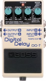 Boss DD-7 Delay Pedal