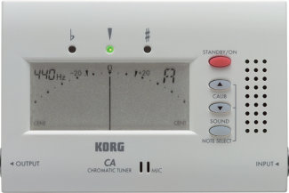 Korg CA40 Tuner