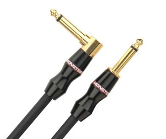 Monster Bass Cable Angled