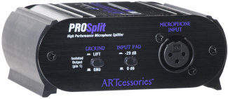ART Prosplit Mic Splitter