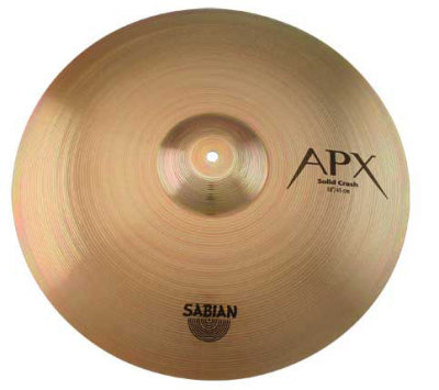 Sabian APX Solid Crash