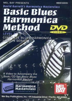 Mel Bay Harmonica DVD