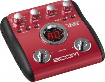 Zoom B2 Bass Pedal