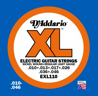 DAddario EXL110 Strings