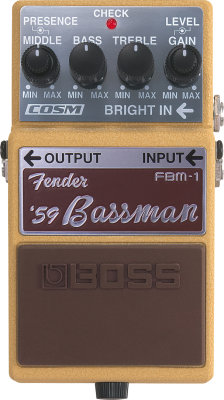 Boss FBM-1 Bassman Pedal