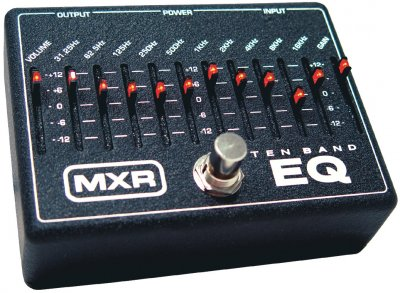 MXR M108 Graphic EQ Pedal