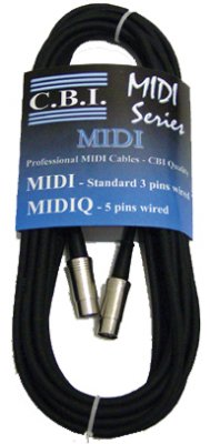 CBI Standard MIDI Cord
