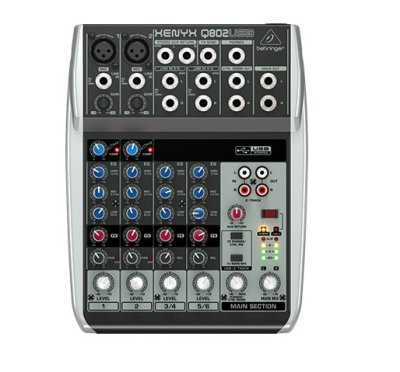 Behringer Q802USB Mixer