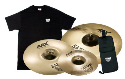 Sabian AAX Cymbal Pack