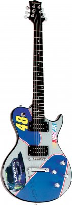 NASCAR Electric Guitar
