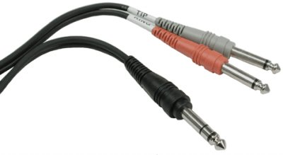 Stereo to Dual Mono Cable